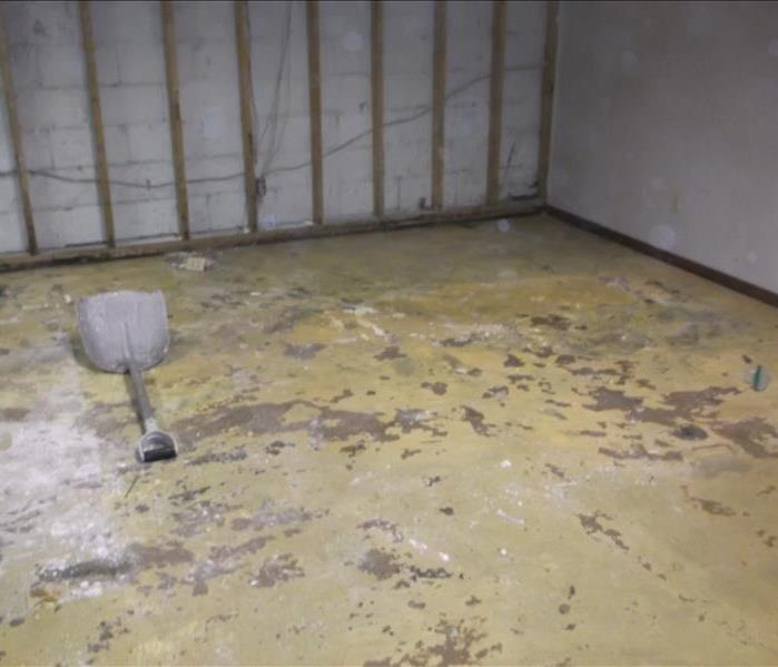 Basement Damage in Carlisle, IN After