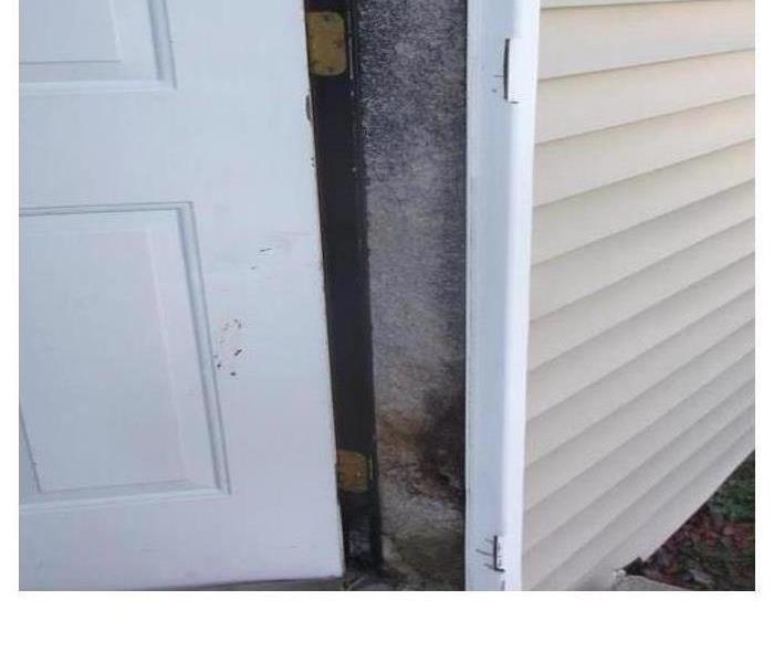Door Mold Damage