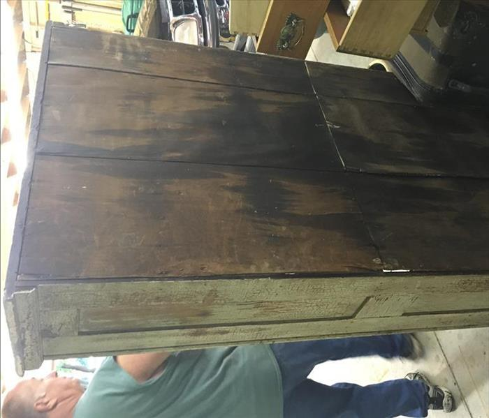 Antique Hutch out of a House Fire